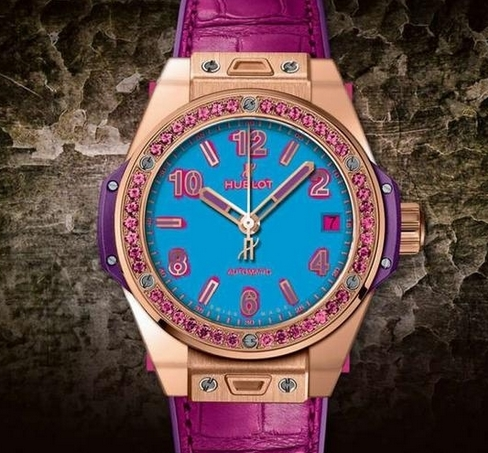 Replica Hublot Big Bang One Click Pop Art 465.OP.5189.LR.1233.POP16 Review