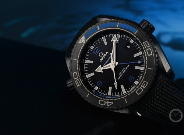 Replica Omega Seamaster Planet Ocean GMT Deep Black 45.5mm 215.92.46.22.01.002 Review