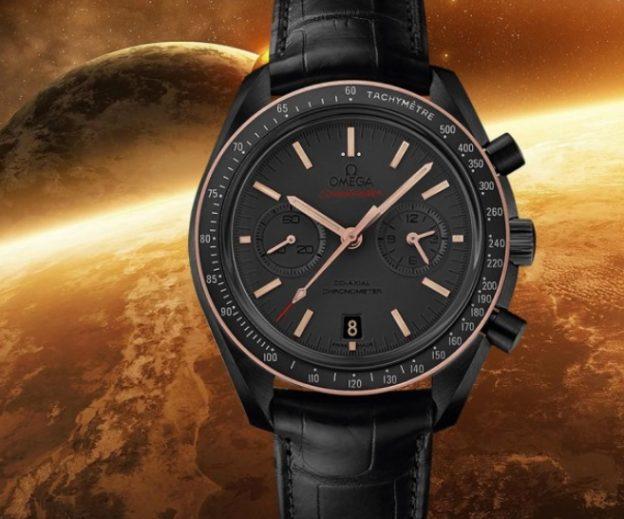 Replica Omega Speedmaster Chronograph Dark Side of the Moon Sedna Black 311.63.44.51.06.001 Review