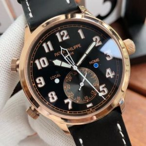 Replica Patek Philippe Calatrava Pilot Travel Time 5524 Watch