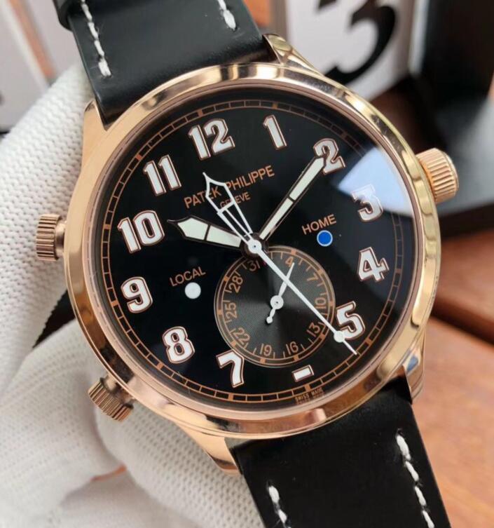 Replica Patek Philippe Calatrava Pilot Travel Time 5524 Watch