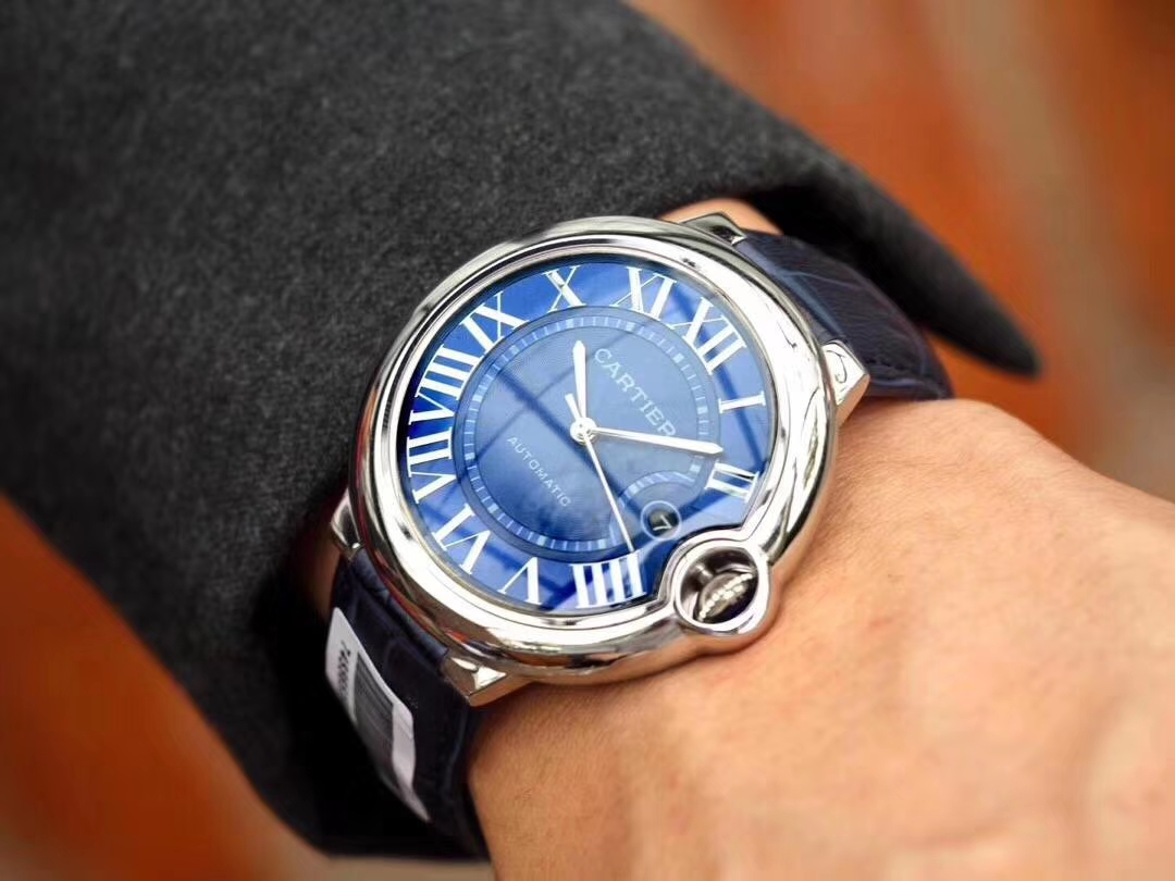 Replica Cartier Ballon Bleu 42mm Watch WSBB0025 Review