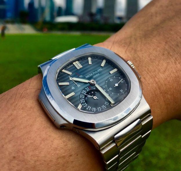 Replica Patek Philippe Steel Nautilus Annual Calendar 5726/1A-014 Watch