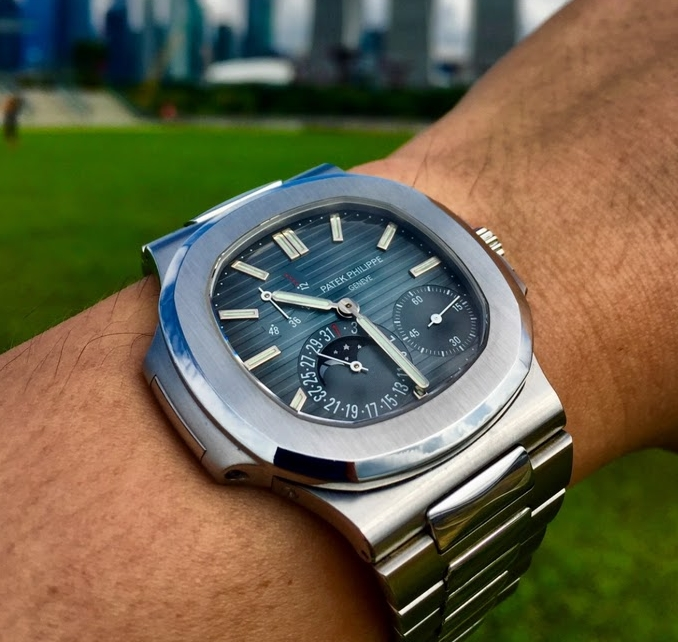 Replica Patek Philippe Steel Nautilus Annual Calendar 5726/1A-014 Watch