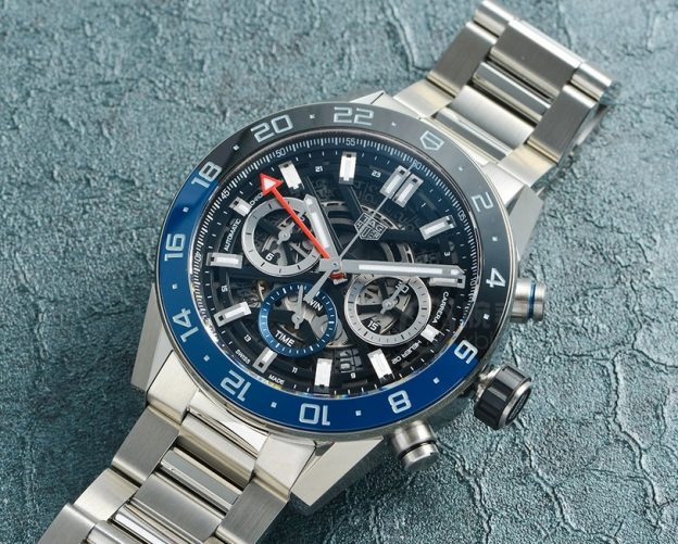 Replica TAG Heuer Carrera Calibre Heuer 02 GMT CBG2A1Z.BA0658 Review