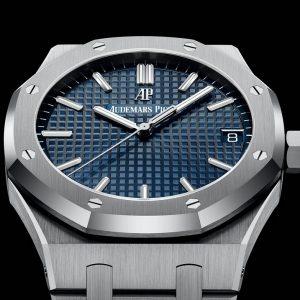 Replica Audemars Piguet Royal Oak Blue Dial Watch Review
