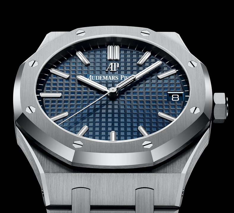 Replica Audemars Piguet Royal Oak Blue Dial Watch Review