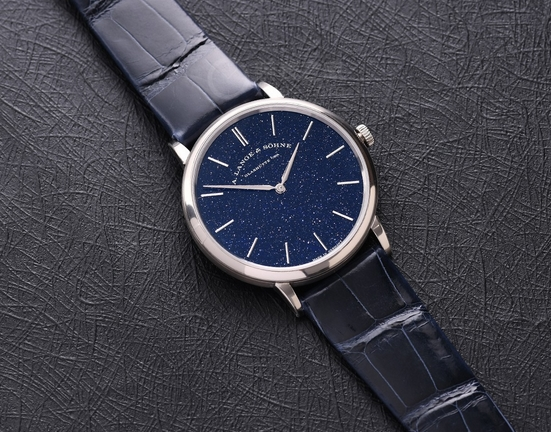 Replica A. Lange & Sohne Saxonia Thin Blue 205.086 Review