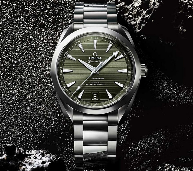 Replica Omega Seamaster Aqua Terra Green Dial 220.10.41.21.10.001 Review