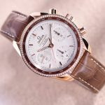 Replica Omega Speedmaster 38mm Sedna Gold Diamonds 324.68.38.50.02.003 Review