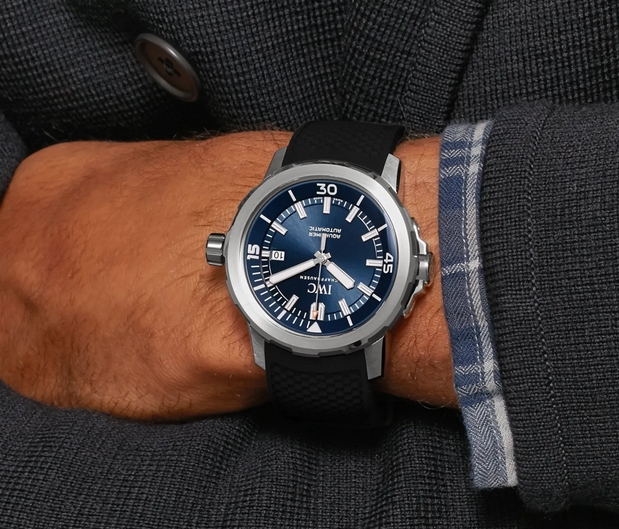Replica IWC Aquatimer Jacques-Yves Cousteau Expedition Review