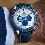 Replica Omega Speedmaster Moonwatch 50th Anniversary Silver Snoopy Award 310.32.42.50.02.001 Review